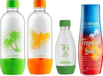 SodaStream Sada k výrobníku lahve + příchuť