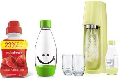 SodaStream sada výprodej Spirit limetkový