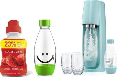 SodaStream sada výprodej Spirit modrý