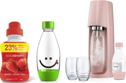SodaStream sada výprodej Spirit růžový