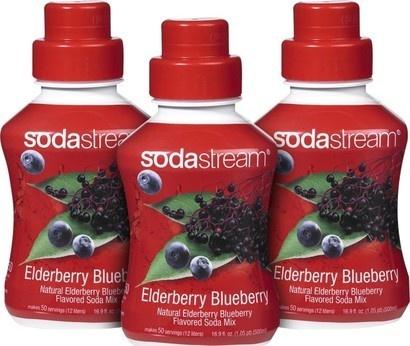 SodaStream Sirup 2+1 zdarma Borůvka s bezinkou 500ml