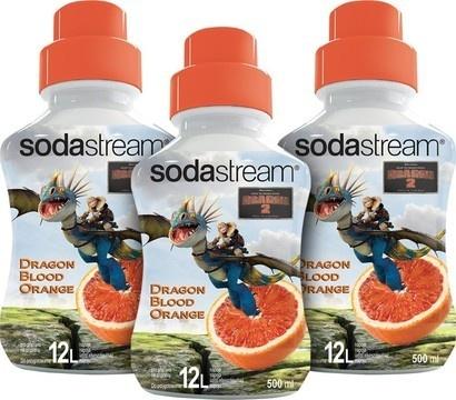 SodaStream Sirup 2+1 zdarma Dragon Blood Orange 500ml