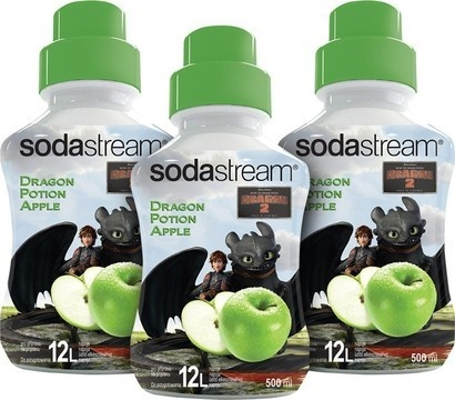 SodaStream Sirup 2+1 zdarma Dragon Green Apple 500ml