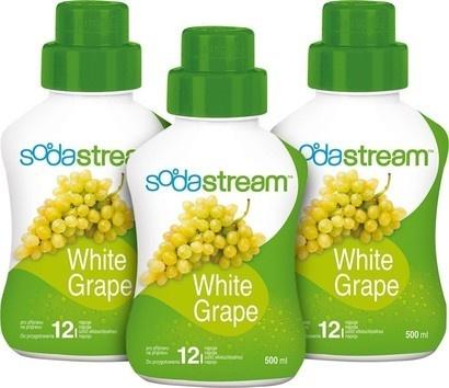 SodaStream Sirup 2+1 zdarma Hroznové víno 500ml