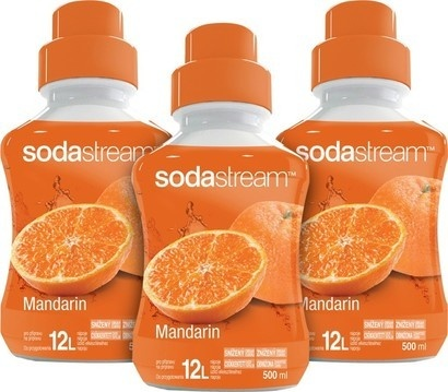 SodaStream Sirup 2+1 zdarma Mandarinka 500ml