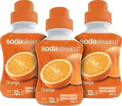SodaStream Sirup 2+1 zdarma Orange 500ml