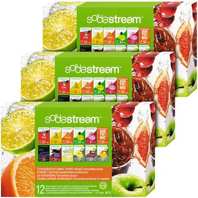 SodaStream Sirup 2+1 zdarma PP12 (12x1)