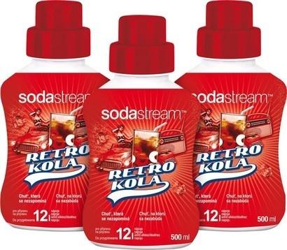 SodaStream Sirup 2+1 zdarma Retro Kola 500ml