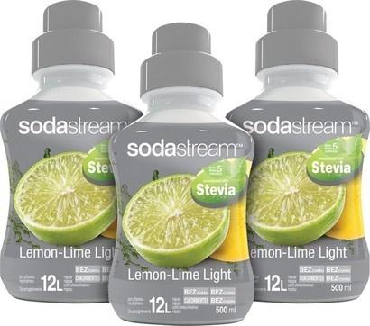 SodaStream Sirup 2+1 zdarma Stevia Citron Limetka 500ml