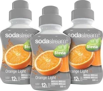 SodaStream Sirup 2+1 zdarma Stevia Pomeranč 500ml