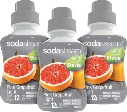 SodaStream Sirup 2+1 zdarma Stevia Růžový grep 500ml