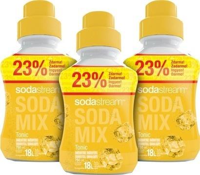 SodaStream Sirup 2+1 zdarma Tonic velký 750ml