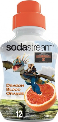 SodaStream Sirup Dragon BLOOD ORANGE 500 ml