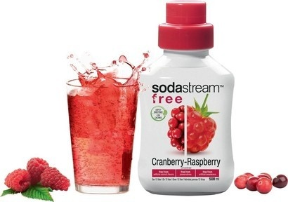 SodaStream Sirup Free Brusinka - Malina 500 ml