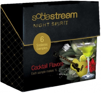 SodaStream Sirup PP6 (6x1porce) Koktejly