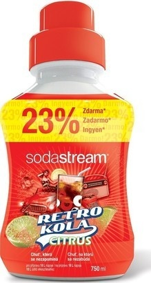 SodaStream Sirup Retro Kola Citrus 750ml