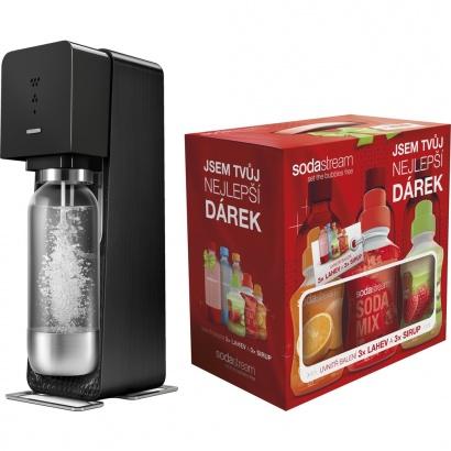 SodaStream SOURCE BLACK + dárek 6v1