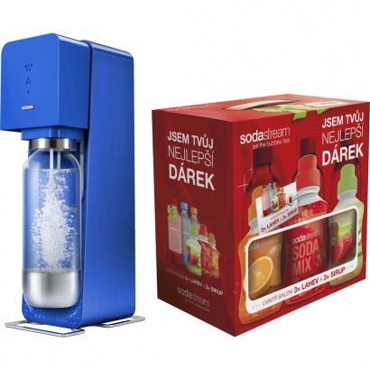 SodaStream SOURCE BLUE + dárek 6v1