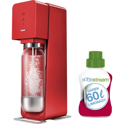 SodaStream SOURCE Red + 60l limo