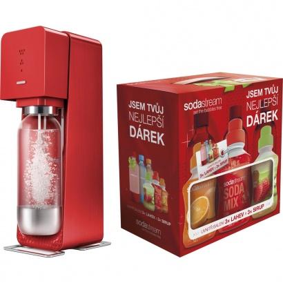 SodaStream SOURCE RED + dárek 6v1