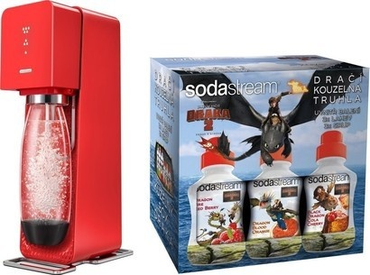 SodaStream Source Red LE Dragon