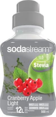SodaStream Stevia brusinka-jablko