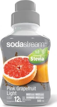 SodaStream Stevia růžový grep light