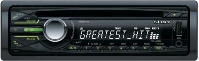 Sony CDX GT44U