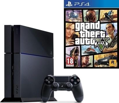Sony Console PS4 + GTA V