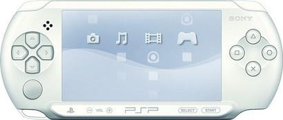 Sony CONSOLE PSP E1004 WHITE