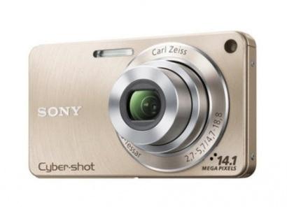 Sony DSC-W350/N zlatý
