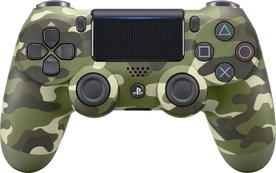 Sony Dual Shock PS4 Green Cammo