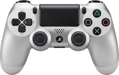 Sony Dual Shock PS4 silver