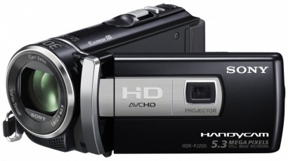Sony HDR PJ200EB
