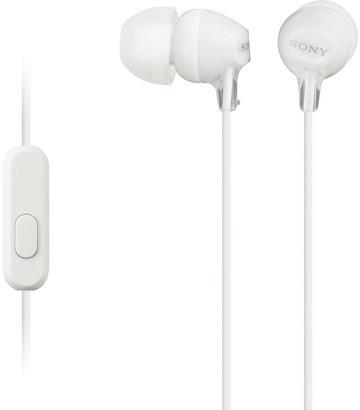 Sony MDR-EX15AP bílá