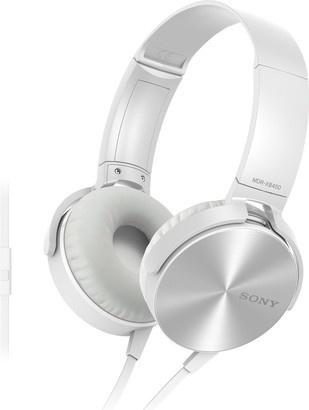Sony MDR-XB450APW bílá