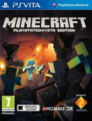 Sony Minecraft PS Vita hra