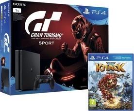 Sony PS4 1TB + Gran Turismo + PS PLUS + Knack 2