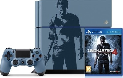 Sony PS4 1TB + Uncharted 4 limited edition