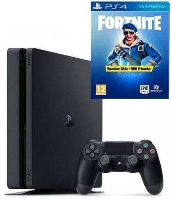 Sony PS4 Pro 1TB black + Fortnite