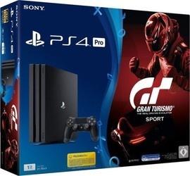Sony PS4 Pro 1TB + Gran Turismo Sport