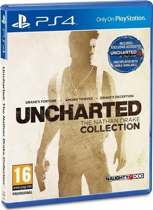Sony Uncharted Collection set 3 her PS4