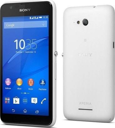 Sony Xperia E4g E2003 White