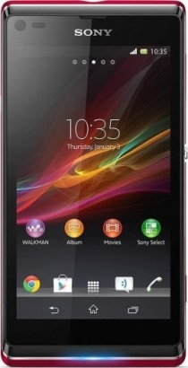 Sony Xperia L C2105 Rose Red