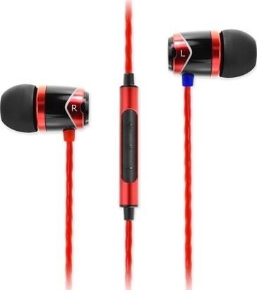 SoundMAGIC E10C headset černá/červená