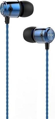 SoundMAGIC E50C headset černá/modrá