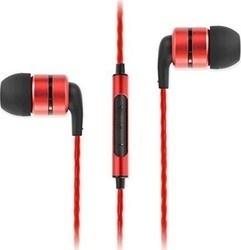 SoundMAGIC E80C headset černá/červená