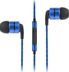 SoundMAGIC E80C headset černá/modrá