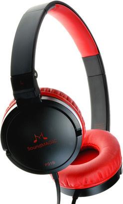 SoundMAGIC P21S headset černá/červená