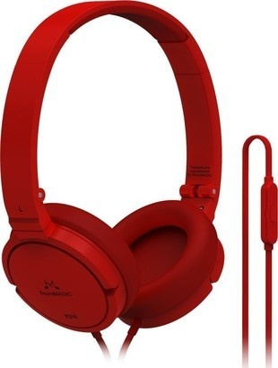 SoundMAGIC P21S headset červená